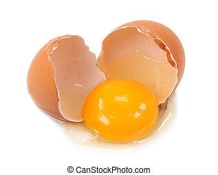 gebrochenes ei