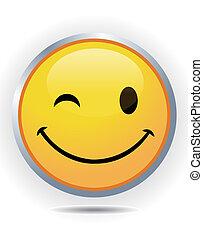 Gelbes Smiley-Gesicht