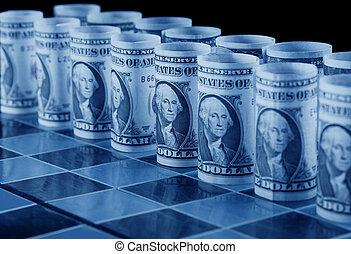 geld, begriff, strategie