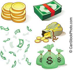 geld, geldmünzen