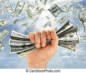geld, halten
