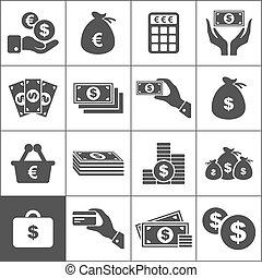 geld, ikone