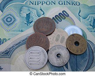 geld, japanisches