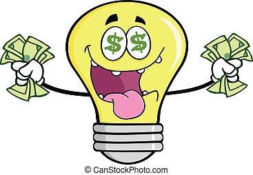 Geld liebt Glühbirnen