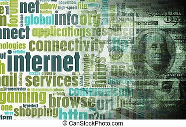 geld, machen, online