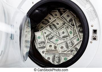 geld, wäscherei