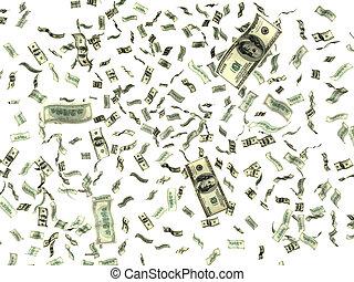 geld, weißes