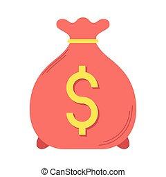 geldtasche, dollar