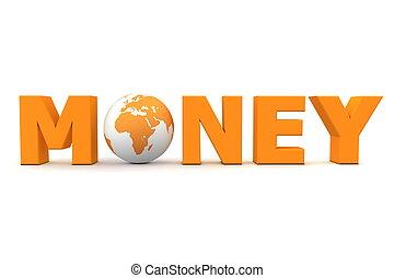 Geldwelt orange