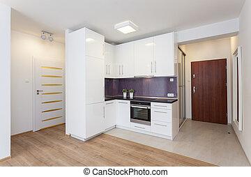 Gemütliche Wohnung - Küchentheke