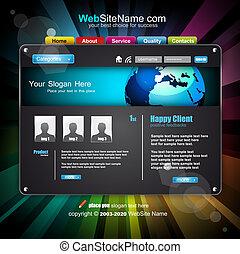 Geschäfts-Web-Teile