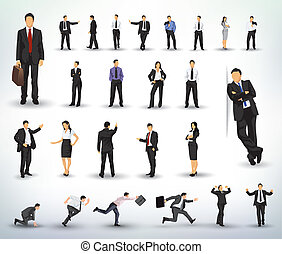 Geschäftsleute illustrieren