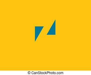 geschaeftswelt, kreativ, logo, geometrisch, brief, firma, abstrakt, z