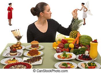 Gesund essen.