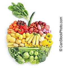 gesundes essen, apple: