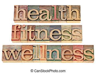 Gesundheit, Fitness, Wohlbefinden