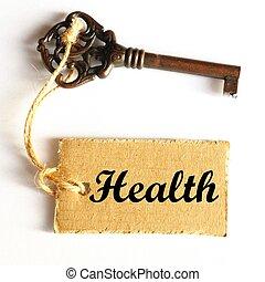 gesundheit, schlüssel