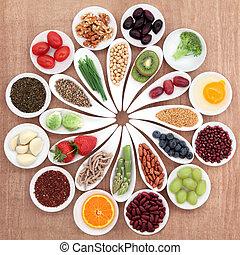 Gesundheits-Essenplatte.
