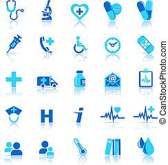 Gesundheits-Ikonen