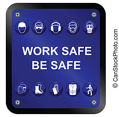 Gesundheits- und Sicherheitszeichen