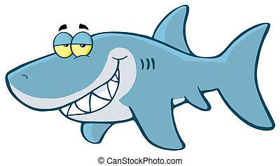 Glücklicher Hai