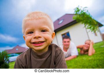 Glückliches Kind, glückliches Leben