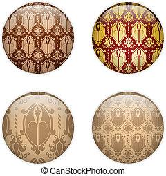 Glas-Kreis-Knopf, Bask-Strukturen