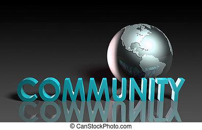 Globale Gemeinschaft.