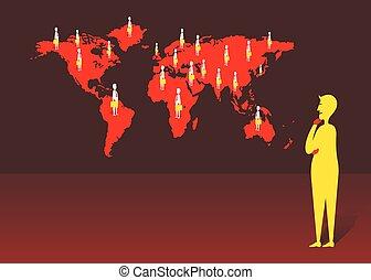 Globale Kommunikationskonzeption.