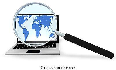 Globale Suche