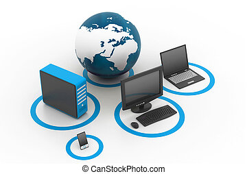 Globales Computernetzwerk