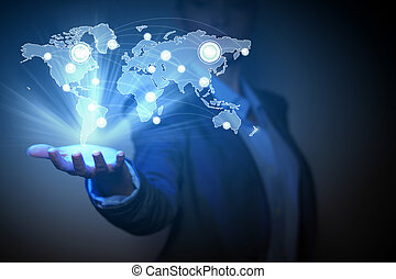 Globales Geschäftsnetzwerk