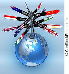 Globales Unternehmen und Tourismus