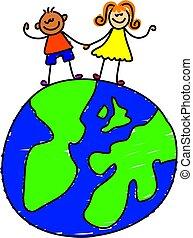 Globe-Kinder