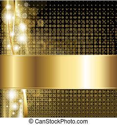 gold, luxus, hintergrund