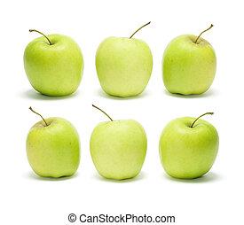 Goldene, köstliche Äpfel