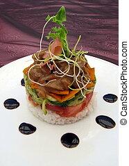 Gourmet-Essenstapel
