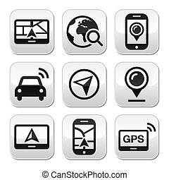 GPS, Navigations-Tickets
