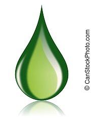 Grüner Ölabfall, Bio-Brennstoff-Ikone