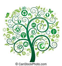 Grüner Baum.
