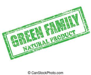 Grüner Familienstamm