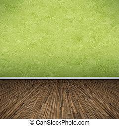Grüner Stock