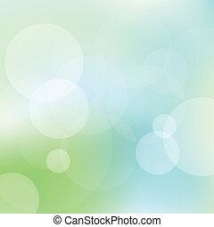 Grüner und blauer Lichtvektor Hintergrund