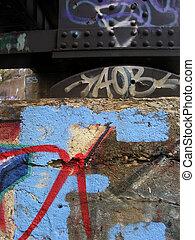 graffiti, detail