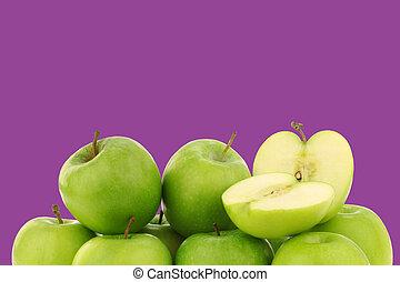 Granny Smith Äpfel.