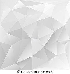Graue polygonale Textur, Unternehmenshintergrund.