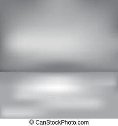 Grauer Hintergrund.