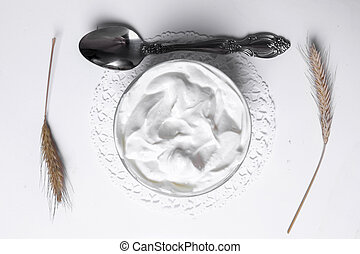Griechischer Joghurt.