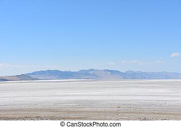 Großer Salzsee in Utah.