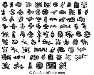 Großes Päckchen mexikanischer Motive.